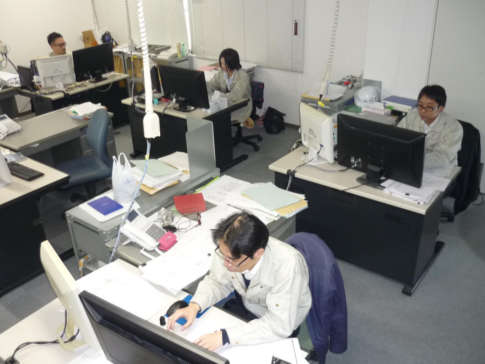 札幌電機鉄工株式会社設計部